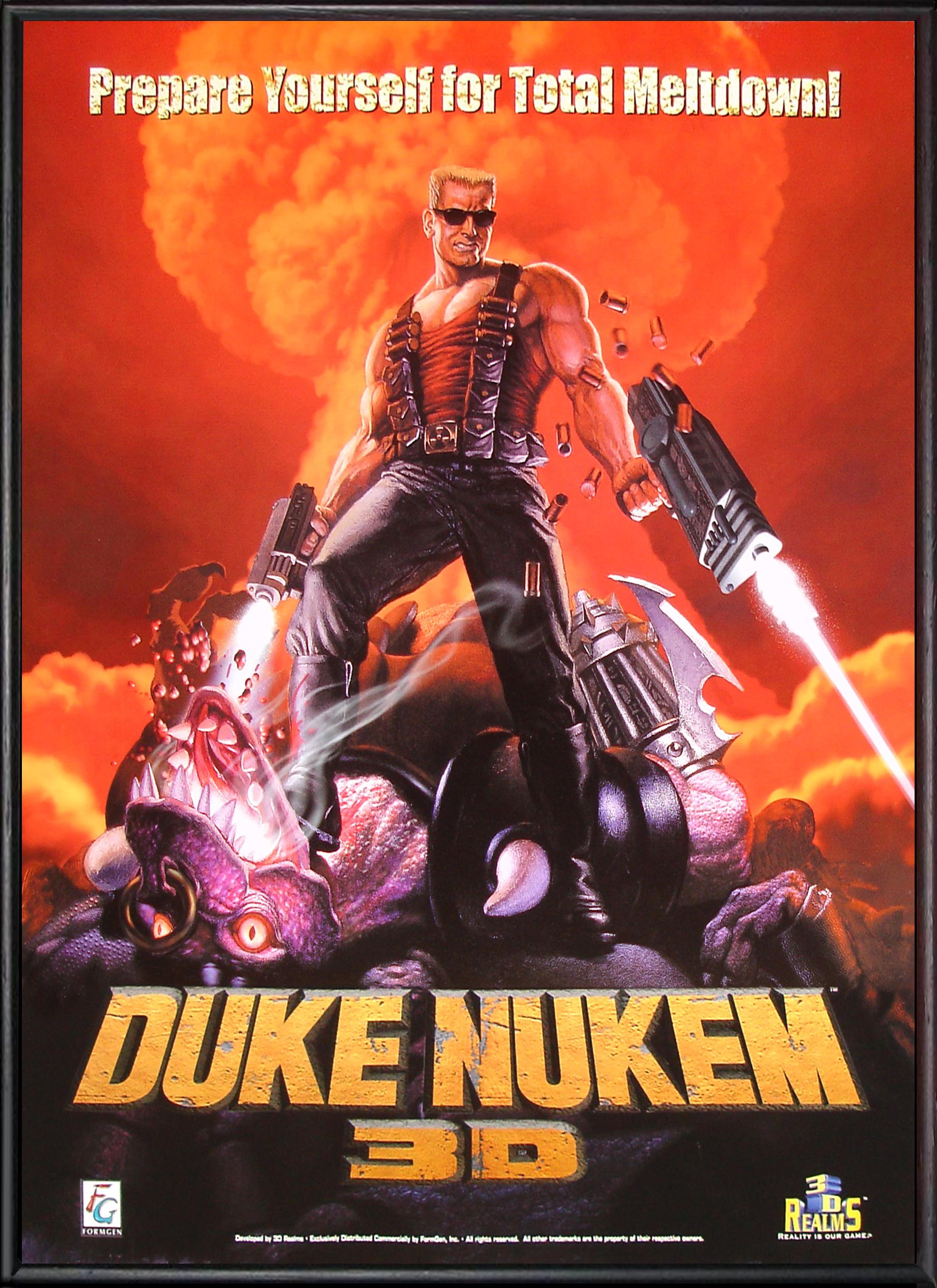 Скачать игру Дюк Нюкем 3Д
