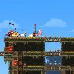 Скриншоты из игры Broforce
