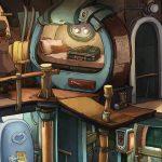 Скриншоты из игры Deponia