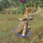 Скриншоты из игры LEGO Jurassic World
