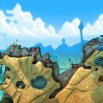 Скриншоты из игры Worms Revolution
