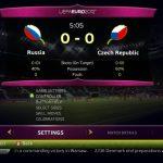 Скриншоты из игры UEFA Euro 2012