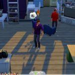 Скриншоты из игры The Sims 4